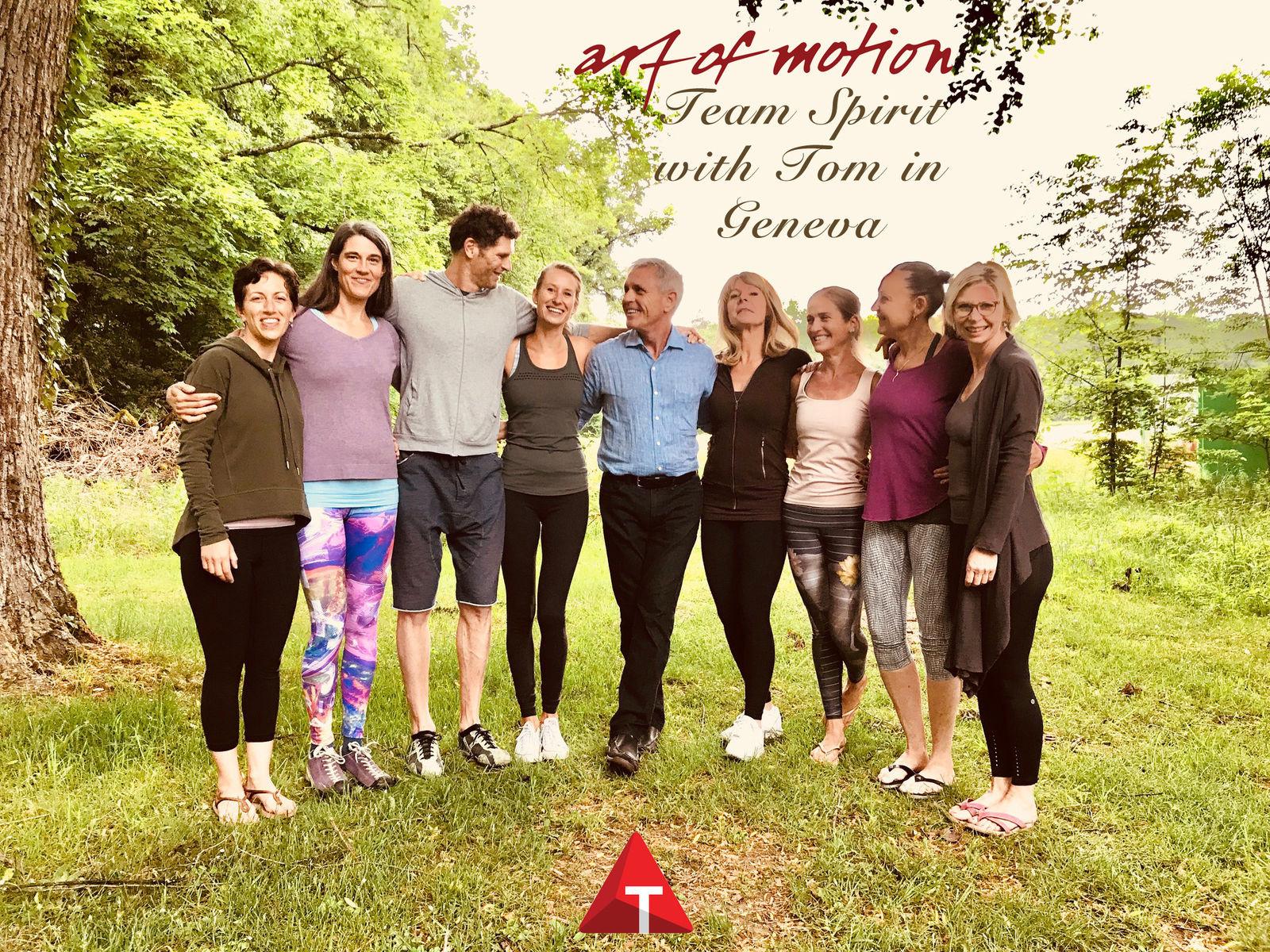 Mit Tom in Bern und Genf – art of motion